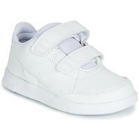 Schoenen Kinderen Lage sneakers adidas Performance ALTASPORT CF I Wit
