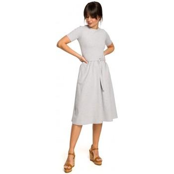 Textiel Dames Jacks / Blazers Be B120 Fit en flare midi jurk - zwart