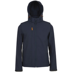 Textiel Wind jackets Sols TRANSFORMER SOFTSHELL Azul