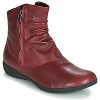 Schoenen Dames Laarzen Josef Seibel NALY 24 Karmijnrood