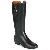Schoenen Dames Hoge laarzen Pikolinos DAROCA W1U Zwart