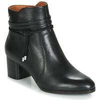 Schoenen Dames Enkellaarzen Pikolinos CALAFAT W1Z Zwart