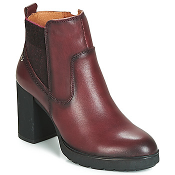 Schoenen Dames Enkellaarzen Pikolinos SAGUNTO W4Z Bruin