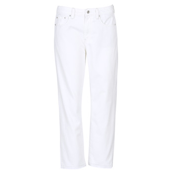 Textiel Dames Boyfriend jeans G-Star Raw 3301 MID BOYFRIEND 7/8 Wit