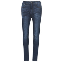 Textiel Dames Skinny jeans G-Star Raw D-STAQ MID BOY SLIM Blauw / Faded / Medium / Vintage