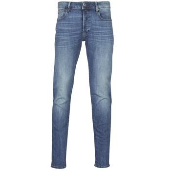 Textiel Heren Skinny jeans G-Star Raw 3301 SLIM Blauw / Vintage / Medium / Vintage
