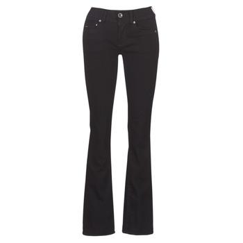 Textiel Dames Bootcut jeans G-Star Raw MIDGE MID BOOTCUT WMN Zwart