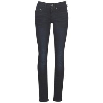 Textiel Dames Straight jeans G-Star Raw MIDGE MID STRAIGHT WMN Blauw / Vintage