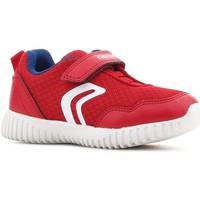 Schoenen Kinderen Lage sneakers Geox B Waviness B.B B822BB 014BU C7213 red