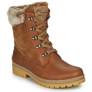 Schoenen Dames Laarzen Panama Jack TUSCANI Bruin