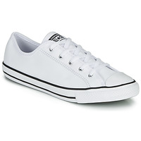 Schoenen Dames Lage sneakers Converse CHUCK TAYLOR ALL STAR DAINTY GS  LEATHER OX Wit