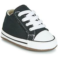 Schoenen Kinderen Hoge sneakers Converse CHUCK TAYLOR ALL STAR CRIBSTER CANVAS COLOR  HI Zwart