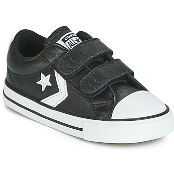 Schoenen Kinderen Lage sneakers Converse STAR PLAYER EV 2V  LEATHER OX Zwart
