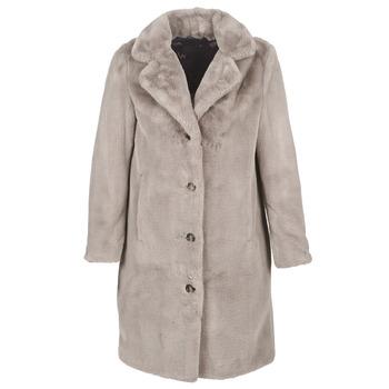 Textiel Dames Mantel jassen Oakwood CYBER Beige