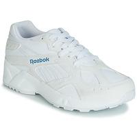 Schoenen Dames Lage sneakers Reebok Classic AZTREK Wit / Blauw