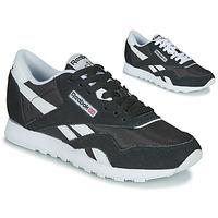 Schoenen Dames Lage sneakers Reebok Classic CL NYLON Zwart / Wit