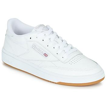 Schoenen Lage sneakers Reebok Classic CLUB C 85 Wit