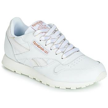 Schoenen Meisjes Lage sneakers Reebok Classic CLASSIC LEATHER J Wit / Glitter