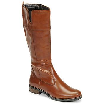 Schoenen Dames Hoge laarzen Tamaris CARI Cognac