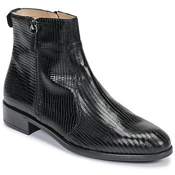 Schoenen Dames Laarzen Unisa BRAS Zwart
