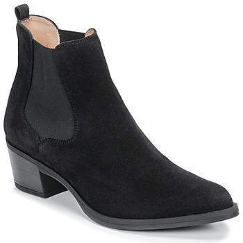 Schoenen Dames Enkellaarzen Unisa GREYSON Zwart