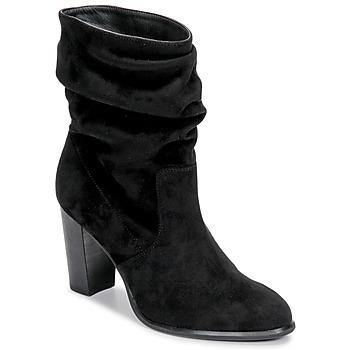 Schoenen Dames Enkellaarzen Unisa ULANO Zwart