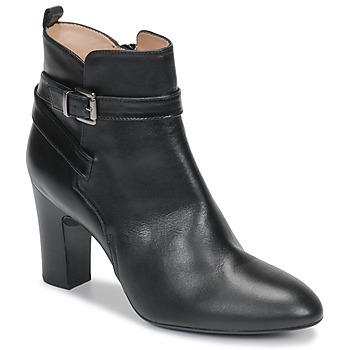 Schoenen Dames Enkellaarzen Unisa UMBRIA Zwart