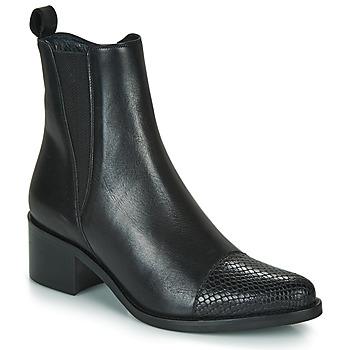 Schoenen Dames Enkellaarzen Myma PETULA Zwart