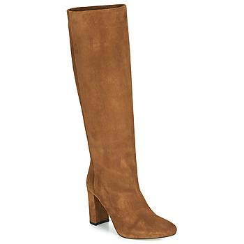 Schoenen Dames Hoge laarzen Jonak CALIME Bruin