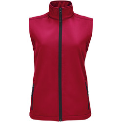 Textiel Dames Vesten / Cardigans Sols RACE BW WOMEN Rojo