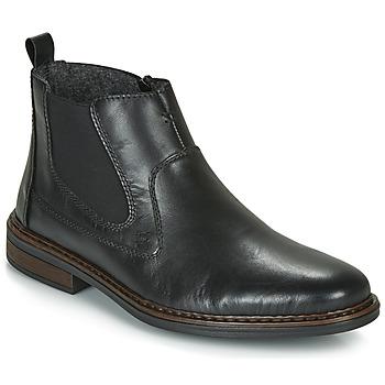 Schoenen Heren Laarzen Rieker DANE Zwart