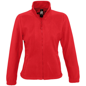 Textiel Dames Fleece Sols NORTH POLAR WOMEN Rojo