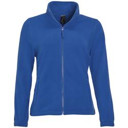 Textiel Dames Fleece Sols NORTH POLAR WOMEN Azul