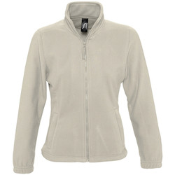 Textiel Dames Fleece Sols NORTH POLAR WOMEN Beige