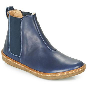 Schoenen Dames Laarzen El Naturalista CORAL Blauw