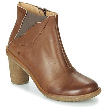 Schoenen Dames Hoge laarzen El Naturalista TRIVIA Bruin