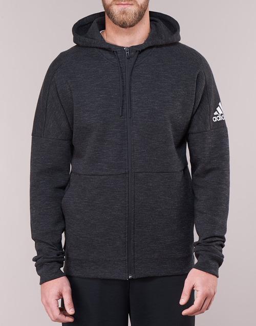 adidas Performance DU1137 Zwart - Gratis levering  Textiel Sweaters / Sweatshirts Heren