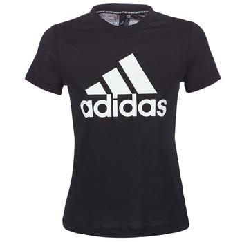 Textiel Dames T-shirts korte mouwen adidas Performance DY7734 Zwart