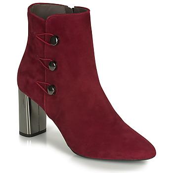Schoenen Dames Enkellaarzen Perlato 11312-CAM-ROUGE Rood