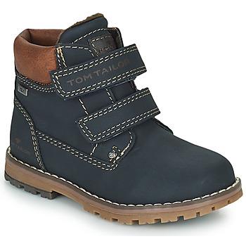 Schoenen Jongens Laarzen Tom Tailor 73003-BLEU Blauw