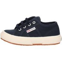 Schoenen Kinderen Hoge sneakers Superga 2750S0003C0 Blue