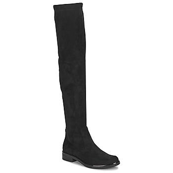 Schoenen Dames Hoge laarzen Caprice LITIA Zwart
