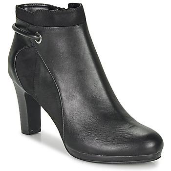 Schoenen Dames Enkellaarzen Moony Mood FAZIOME Zwart