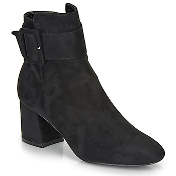 Schoenen Dames Enkellaarzen Moony Mood FAZIOLE Zwart