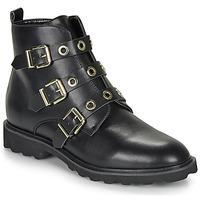 Schoenen Dames Laarzen Moony Mood FIZANE Zwart
