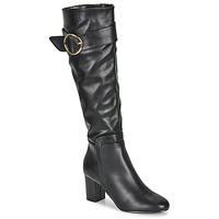 Schoenen Dames Hoge laarzen Moony Mood FIMMINI Zwart