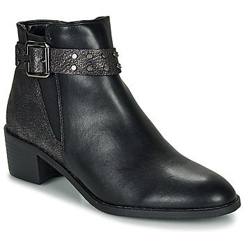 Schoenen Dames Laarzen Moony Mood FLOURETTE Zwart