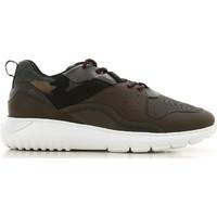 Schoenen Heren Lage sneakers Hogan HXM3710AQ10JIU737D color Mimetico