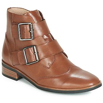 Schoenen Dames Laarzen Karston JIRONO Bruin