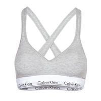 Ondergoed Dames Modern Bralette Calvin Klein Jeans MODERN COTTON BRALETTE LIFT Grijs